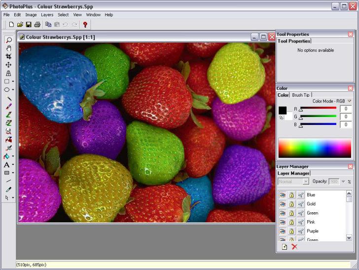 capture d'écran PhotoPlus