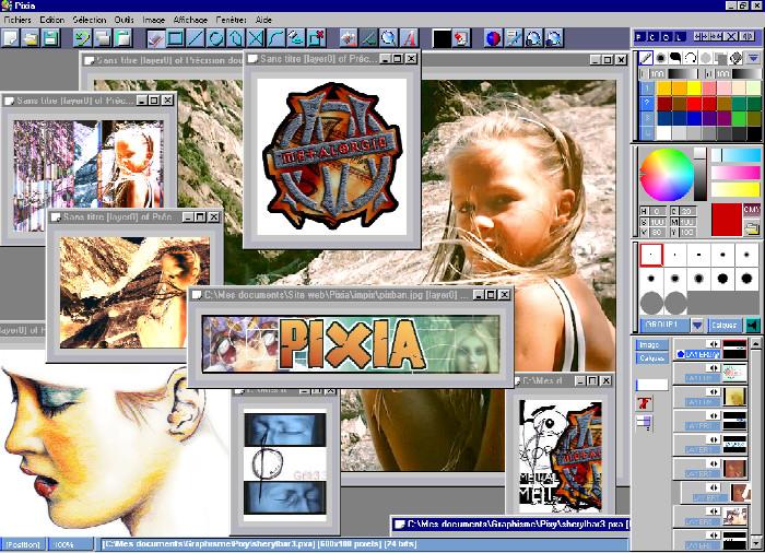 pixia montage photo gratuit